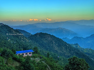 Bhedetar Makalu View