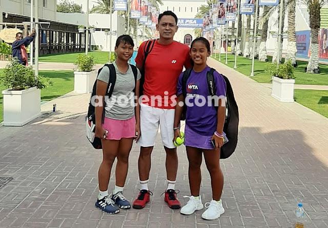 ITF Asia 14 & Under Closed Championships 2019: Kholisa dan Naura Melaju ke Babak 2
