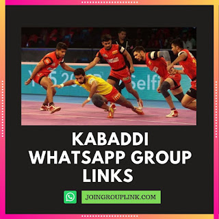 Kabaddi WhatsApp Group links