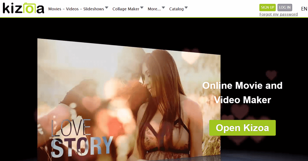 Kizoa 線上製作幻燈片式影片,上傳照片套用版型輕鬆完成(免費/付費) - 逍遙の窩