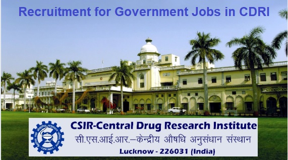 CDRI Lucknow Job Vacancy