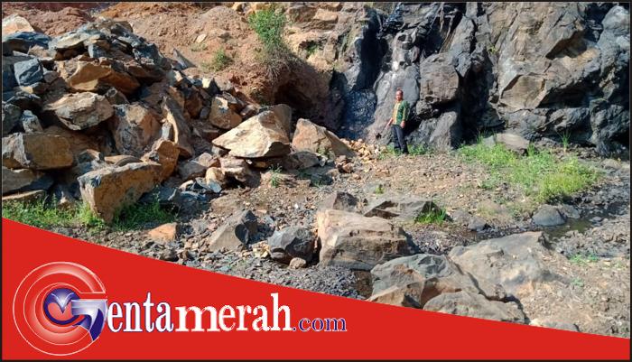 Penambangan Batu Sungai Durian Kotaway Diduga Ilegal, LSM Lipan Waykanan Meminta Aparat Segera Bertindak