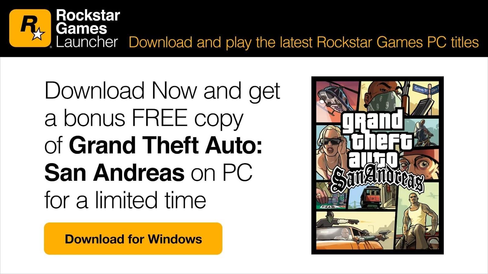 Grand Theft Auto San Andreas: Αποκτήστε το εντελώς δωρεάν!!