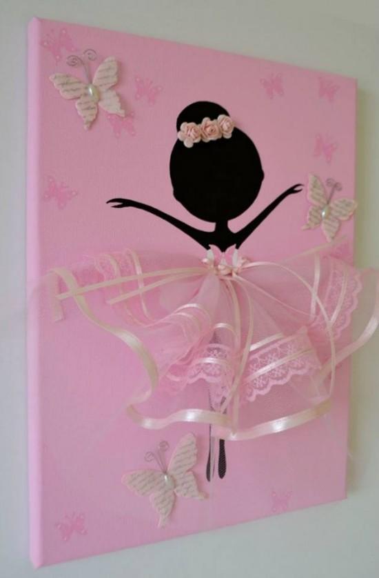 Chasing A Better Life: Ballerina Tutu Wall Art