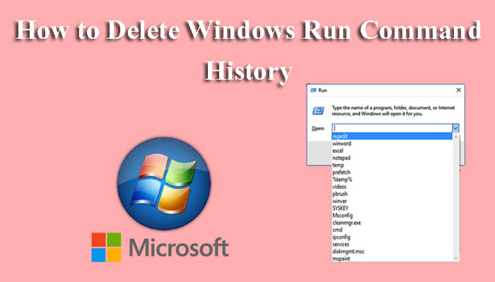 Computer me Run command history delete kaise kare