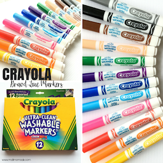 Malimo Mode - Top 10 Favorite Back To School Finds! Washable markers from Crayola!