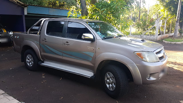 Recuperaron en Brasil una camioneta robada en El Alcázar