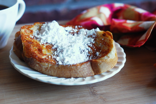 Eggless French Toast Recipe