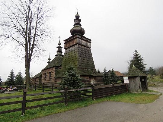Cerkiew greckokatolicka w Skwirtnem z 1837 roku.