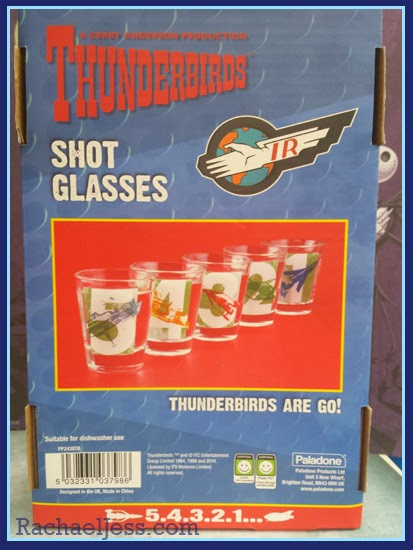 My Geek Box Thunderbirds Shot Glasses