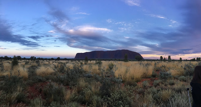 Uluru, sunrise at Uluru, Australia