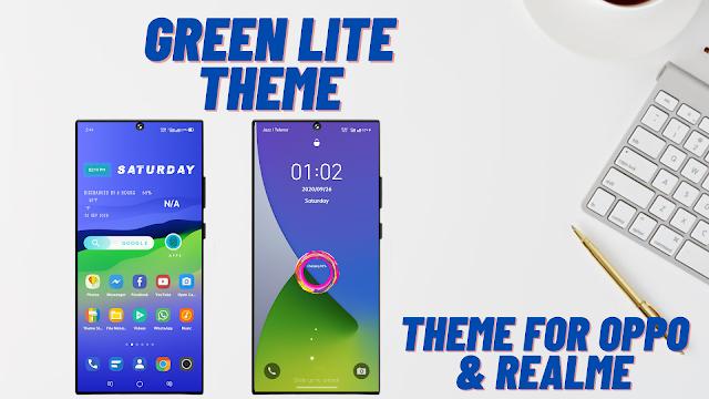 Chủ đề Green Lite cho Oppo và Realme || chủ đề oppo || chủ đề realme ||
