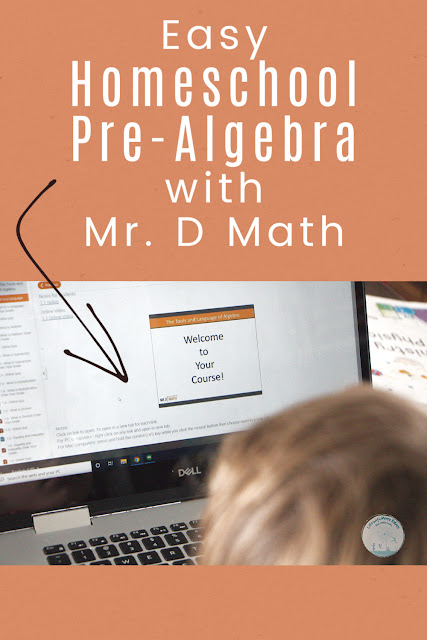 Homeschool Pre-Algebra Made Easy with Mr. D Math