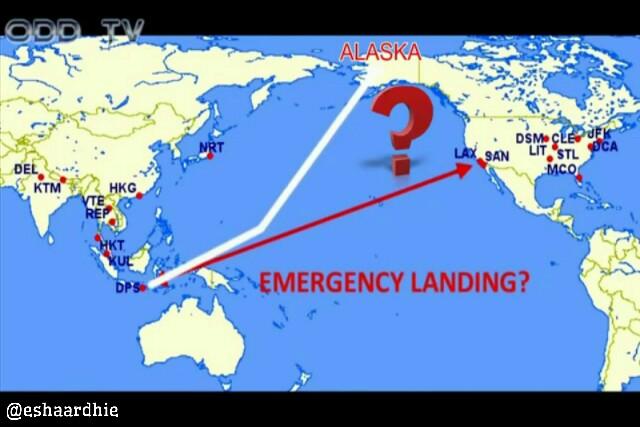 Penerbangan Dari Bali Ke Los Angeles (Mengupas Kebohongan Konspirasi Bumi Datar)