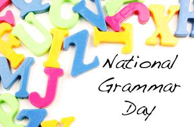National Grammar Day Wishes Images