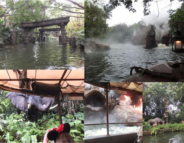 The Jungle Cruise Ride