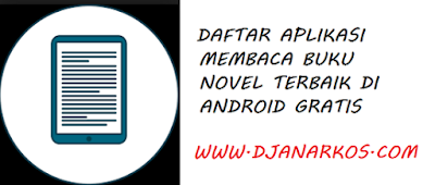 daftar aplikasi baca buku novel terbaik di android