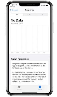 apple-health-app-pregnancy