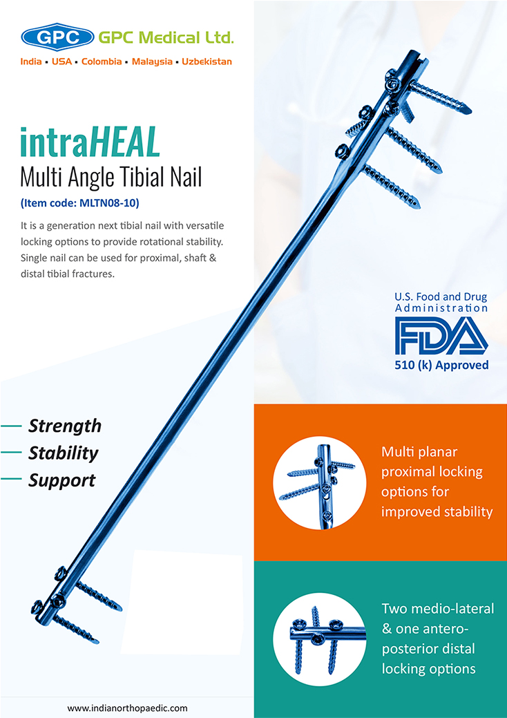 intraHEAL Multi Angle Tibial Nail