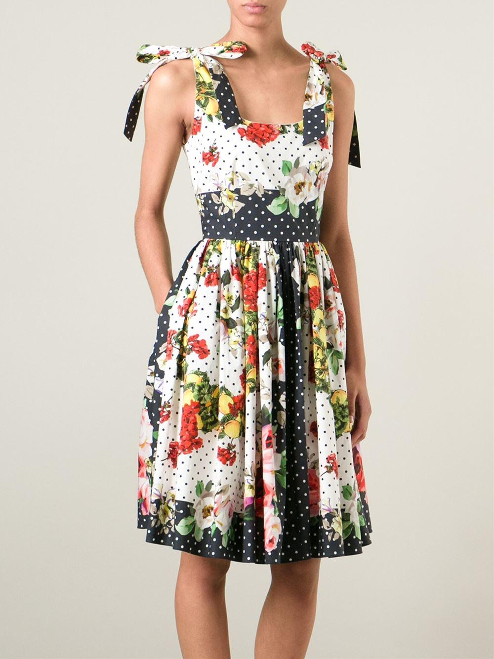 Fashion For Linda Dolce And Gabbana Lemons Polka Dot