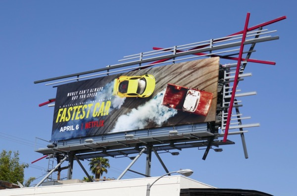 Fastest Car series launch billboard