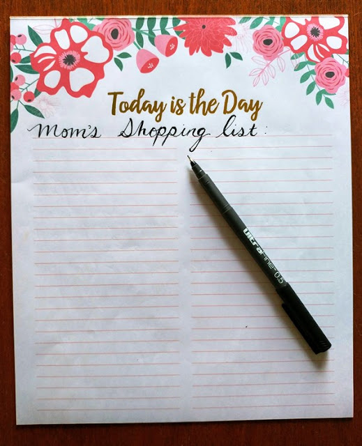 Make a master shopping list #ad #FamilyCaregiving