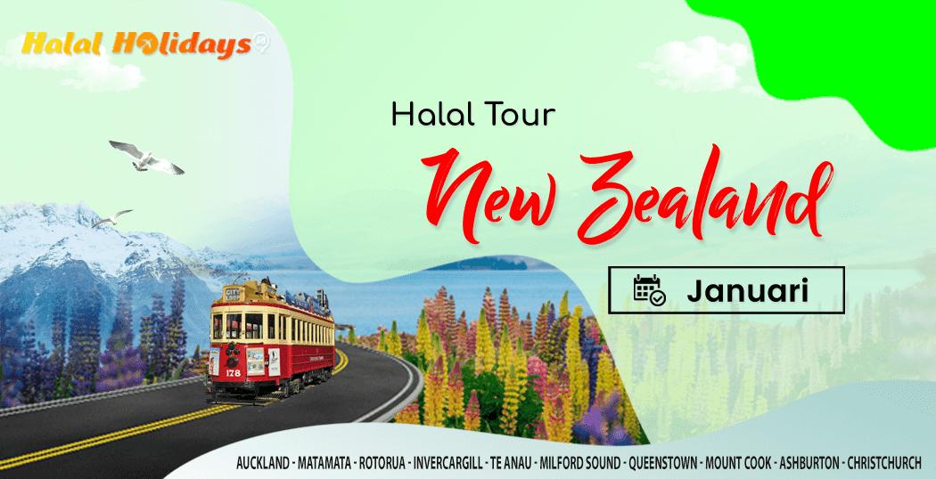 Paket Wisata Halal Tour New Zealand Murah Januari 2022