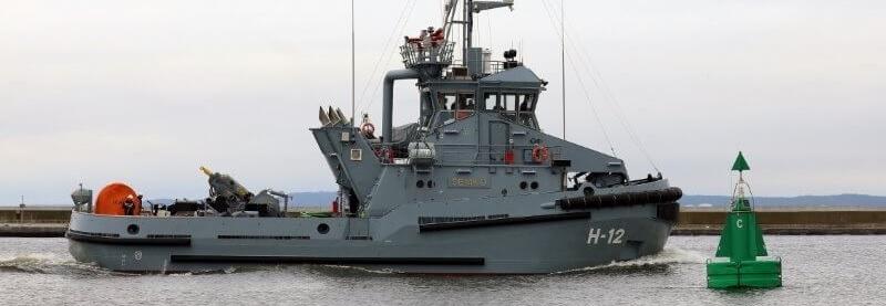 ВМС Польщі отримали четвертий новий буксир