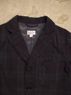 "FWK by Engineered Garments ""Baker Jacket in Blackwatch Cotton Poplin"""
