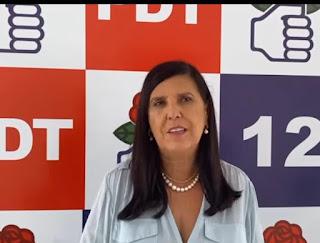 PDT nacional projeta Lígia candidata ao governo da PB para garantir palaque a Ciro