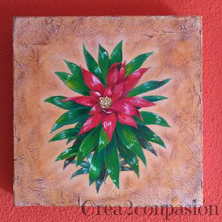 cuadros-pintados-a-mano-flores-hojas-Crea2conPasión