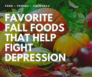 Blog With Friends, Fall Favorites | Favorite Fall Foods that Help Fight Depression by Alicia of TaylorLife | Shared on www.BakingInATornado.com