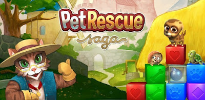 pet rescue saga Apk + Mod (Unlimited Lives/Boosters) for Android