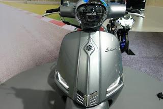 Saluto 125 Skutik Terbaru dari Suzuki, Tampilannya Retro Eropa