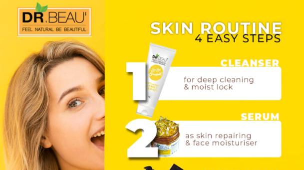 DR.BEAU Pure Natural Skin Oil