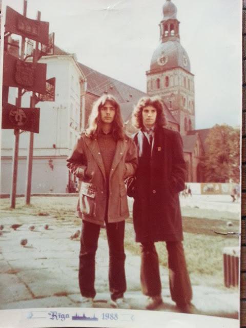 1988 г. Рига. Домская площадь
