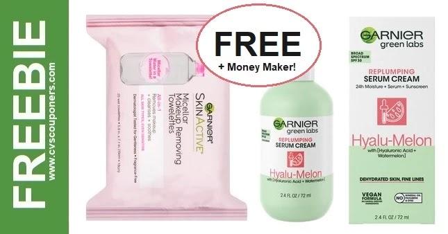 FREE Garnier Green Lab Serum at CVS 5/2-5/8