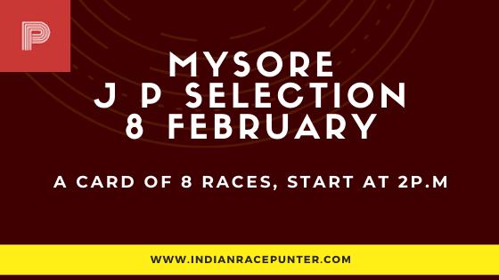 Mysore Jackpot Selections 8 February