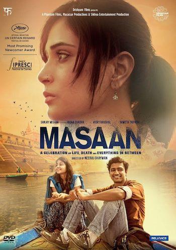 Masaan 2015 Hindi DVDRip x264 700mb ESubs