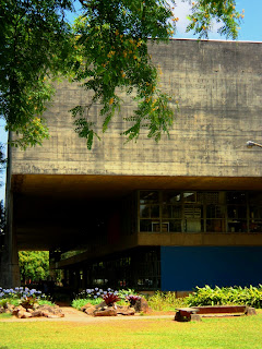 Jardim em Frente à FAU, na USP
