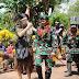 Resmikan Pos Yakyu, Dansatgas Yonif MR 411 Kostrad :  Kado HUT Kostrad ke-59, TNI dan Warga Papua Bersatu Jaga NKRI