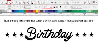 tipografi effect, seni desain tipografi