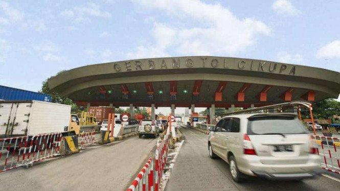 Uji Coba di Tangerang-Merak Sistem Bayar Tol Tanpa Henti