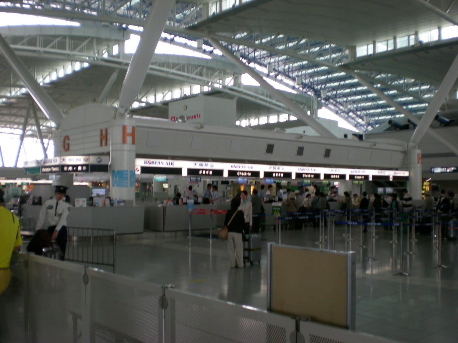 Tokyoman的日本見聞: 日本福岡機場 (九州主要國際機場)