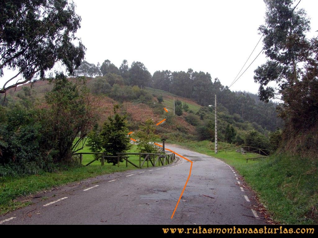 Ruta Deva, Gavio Cimero, Fario, Peña Cuatro Jueces: Area recreativa