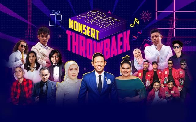 Senarai Penerima Penghargaan Khas Daripada Astro Sempena Konsert Throwbaek 2019