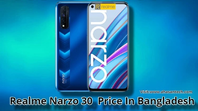 Realme Narzo 30  Price In Bangladesh (Full Specifications )