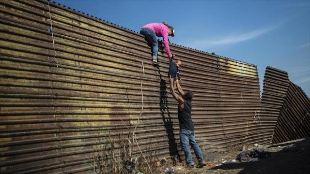 Los migrantes prevén pedir asilo a EEUU con huelga de hambre