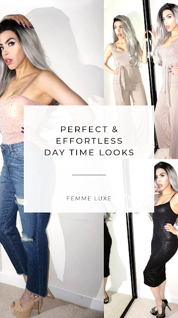 Perfect and effortless day time looks Femme Luxe Finery clothing