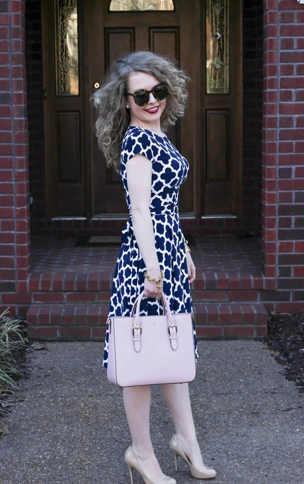Karina-Dresses-Katharine-Navy-and-White-Clover
